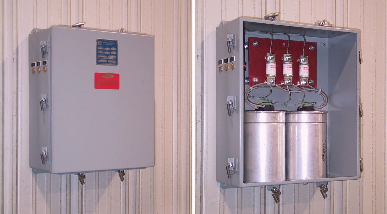 Low Voltage Capacitor Banks Fixed on power factor capacitor installation