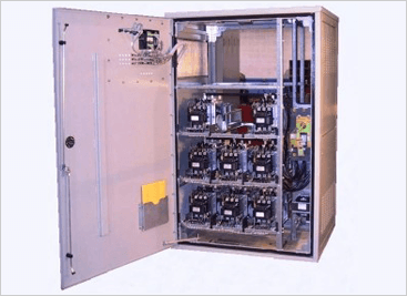 Low Voltage Harmonic Filtering Equipment Inside