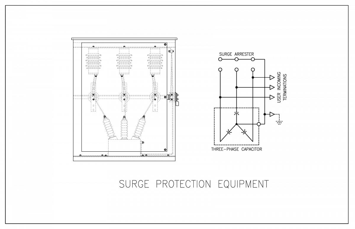 Medium Voltage Surge Protection Equipment Controllix Device Wiring Diagram