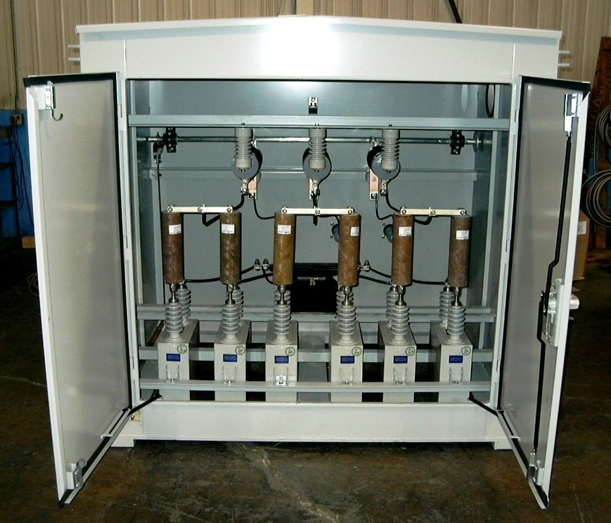Medium Voltage Pad-Mounted Capacitor Banks