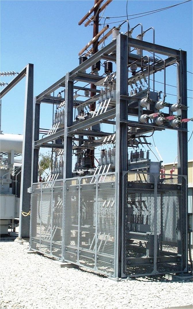 Medium Voltage Rack-Mounted Capacitor Equipment (Custom Applications)
